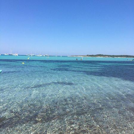 Plage de Piantarella proche de Porto-Vecchio en Corse du sud